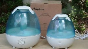 Anypro 2L and 3.5L Cool Mist Humidifiers Side-by-Side Comparison