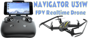 Things Just Got More Exciting With the Navigator U31W UDI Drone!