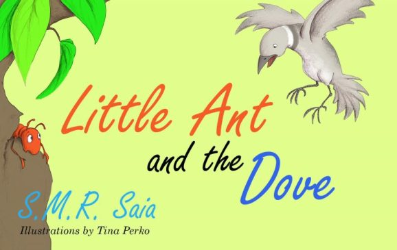 Little Ant and the Dove - Moral - One Good Turn Deserves Another - Little Ant Books Book 5 Cover
