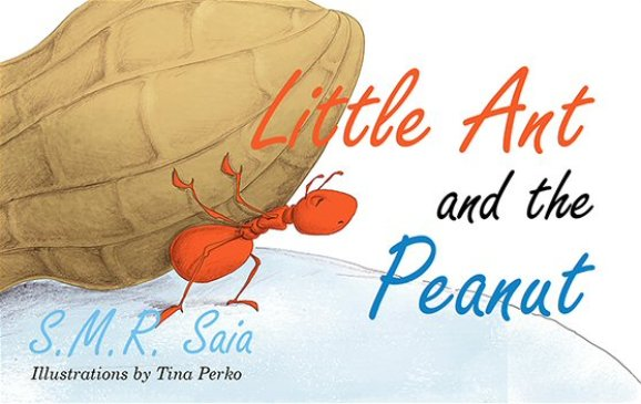 Little Ant and the Peanut - Moral - United We Stand, Divided We Fall - Little Ant Books Book 6 Cover