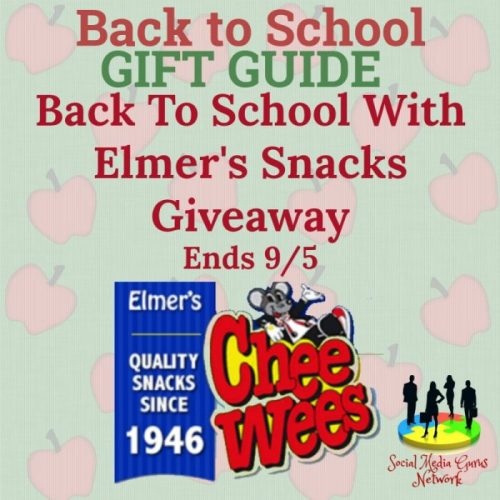 Back To School Gift Guide Elmer's Snacks Giveaway