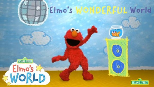 Sesame Street: Elmo's Wonderful World DVD Giveaway