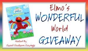 Elmos Wonderful World Giveaway