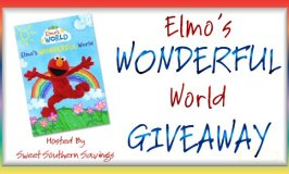 Sesame Street: Elmo's Wonderful World Giveaway Ends 8/14 – 3 Winners