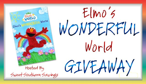 Sesame Street: Elmo's Wonderful World Giveaway Ends 8/14 – 3 Winners