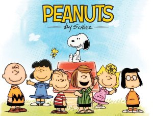 Peanuts by Schulz School Days Gang