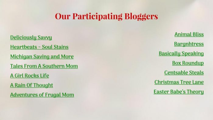 SMGN Holiday Gift Guide Participating Bloggers