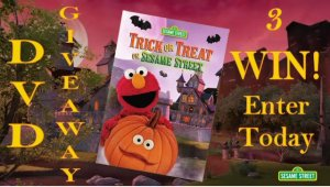 3 WIN the Sesame Street Trick or Treat on Sesame Street DVD Giveaway Enter Today