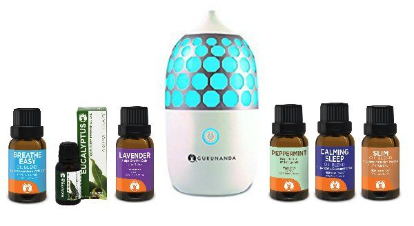 Back To School Gift Guide Gurunanda Diffuser and 100% Pure Oils Giveaway Ends 9/4