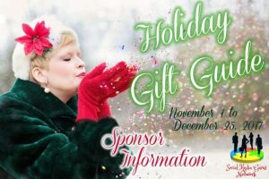 Sponsor Information for 2017 Holiday Gifts Guide