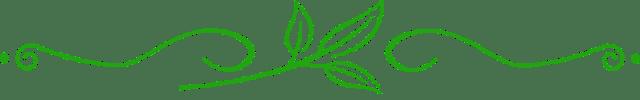 Green Leaf Divider Transparent