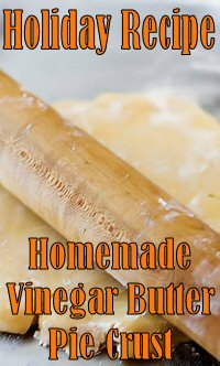 Vinegar Butter #Pie Crust #Recipe - This dough comes together easily and flawlessly, bakes up tender and flaky, and with a lovely butter flavor. This is definitely, a time to use the good butter. #Baking #Food #Holiday #Dessert