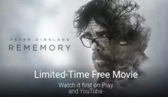 Limited Time Free Movie Google Play YouTube Rememory