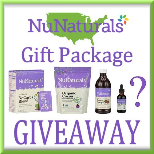 NuNaturals Giveaway Gift Package Button