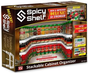 Organize With Spicy Shelves Giveaway Ends 10/17/17