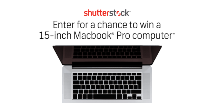 Shutterstock Fall Giveway Macbook Pro Computer