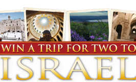 Win a Israel Trip Package worth $6,000 from Colavita Oil – Ends 12/16/17