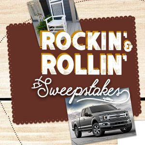 Cracker Barrel's Rockin' & Rollin' Sweepstakes