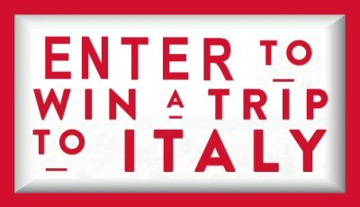 Enter to Win a trip to Italy in this jovial Culinary Getaway Sweepstakes