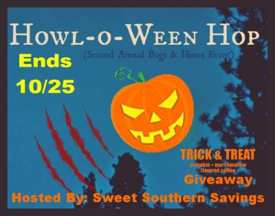 Howl-O-Ween Hop Trick and Treat Coffee Giveaway Ends 10/25/17