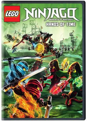 Now on DVD! LEGO NINJAGO Masters of Spinjitzu:  Season 7