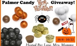 Palmer Candy Halloween Giveaway Ends 10/22/17