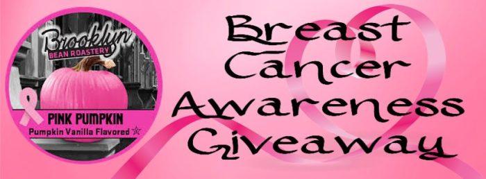 Breast Cancer Awareness Pink Pumpkin Coffee Giveaway