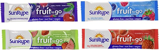 SunRype Fruit to Go Healthy Snack - Variety Pack