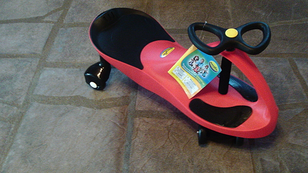 The Original PlasmaCar by PlaSmart - Red Assembled