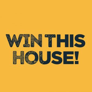 Win This House Logo - Home Giveaway Sweepstakes