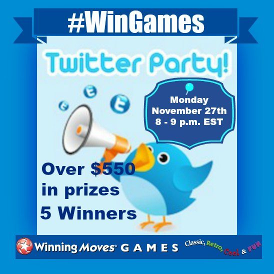 WinGames Winning Moves Twitter Party