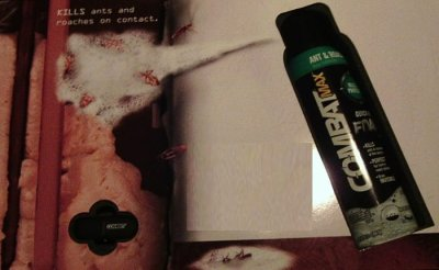 Leave No Place For Them To Hide With Combat Max Ant & Roach Killing Foam Spray