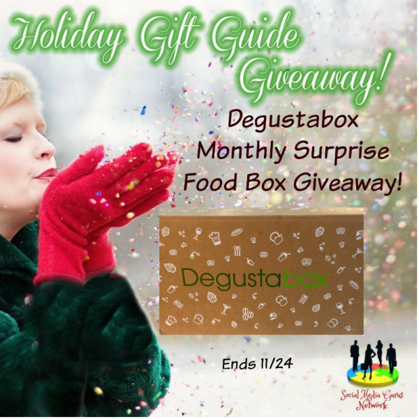 Holiday Gift Guide Degustabox Monthly Surprise Food Box Giveaway