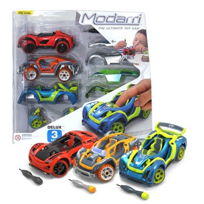 HOLIDAY GIFT GUIDE GIVEAWAY - Modarri Deluxe 3 Pack Build Your Car Kit Giveaway
