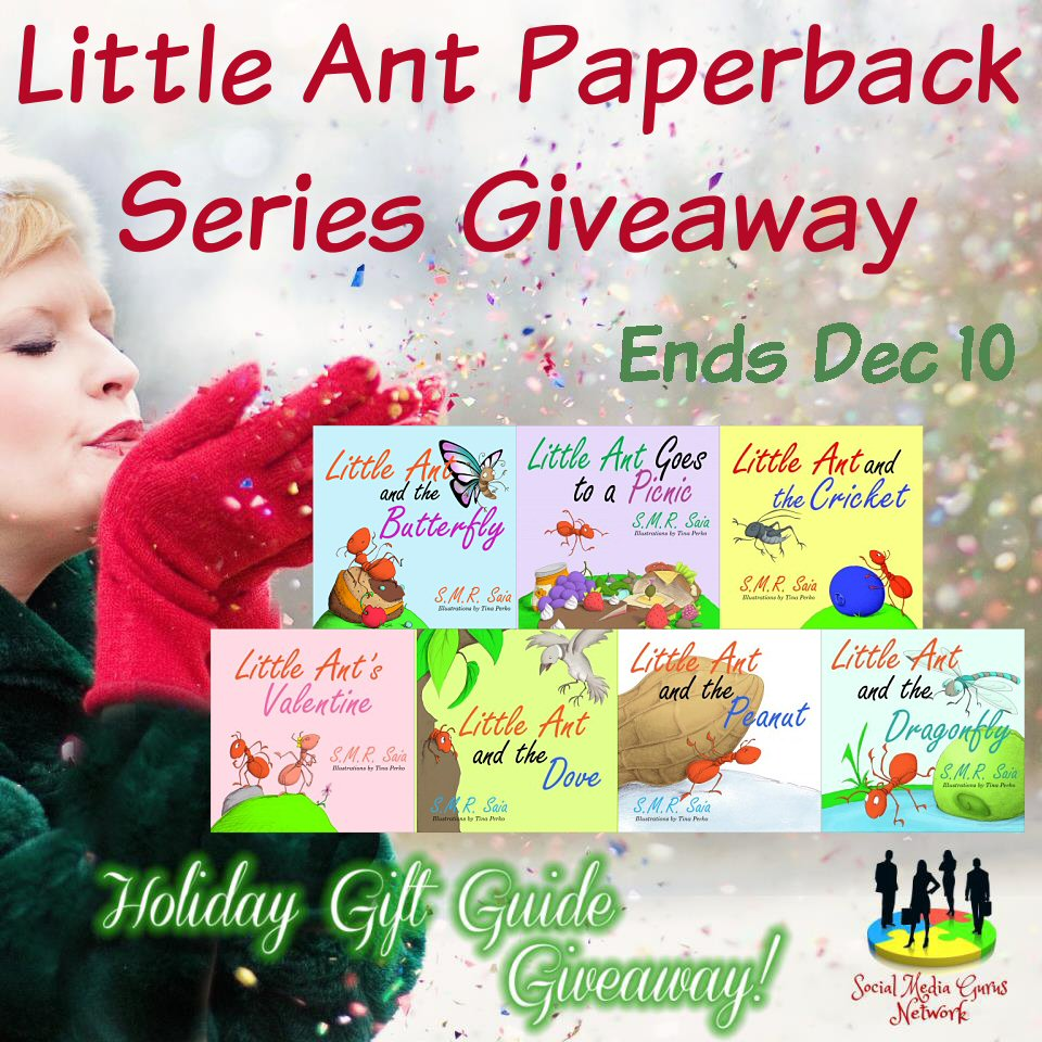 Little Ant Paperback Series Holiday Gift Guide Giveaway