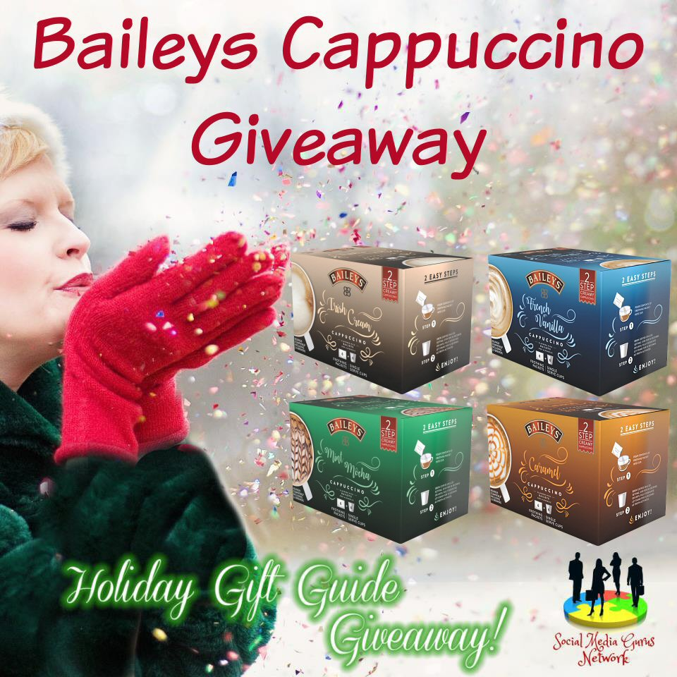 Holiday Gift Guide Baileys Cappuccino Giveaway