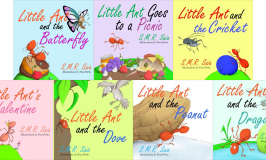 Little Ant Paperback Series Holiday Gift Guide Giveaway! Ends 12/10/17