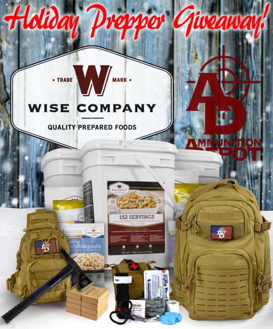 Holiday Prepper Giveaway