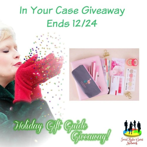HOLIDAY GIFT GUIDE GIVEAWAY - In Your Case Stationary Extravaganza Giveaway