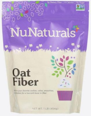 HOLIDAY GIFT GUIDE GIVEAWAY - Holiday Baking With NuNaturals Oat Fiber