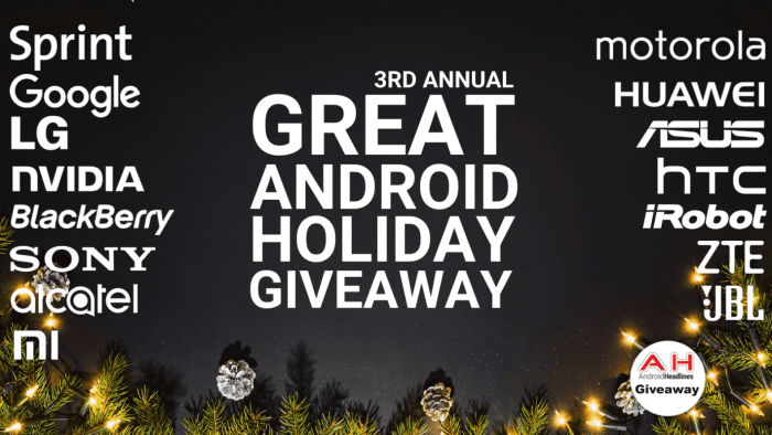 Over 30 Prizes To Be Won in the Great Android Holiday Giveaway 2017