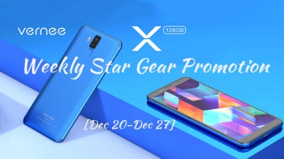 Vernee X 4G Phablet Weekly Star Gear Promotion