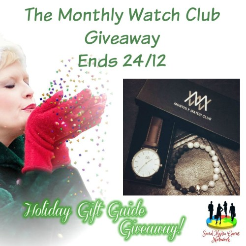 HOLIDAY GIFT GUIDE GIVEAWAY - Monthly Watch Club Giveaway