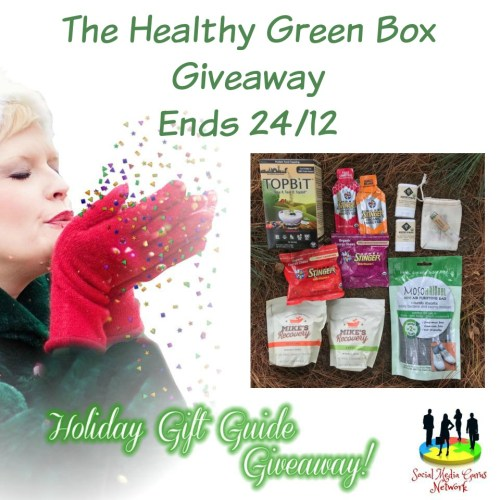 HOLIDAY GIFT GUIDE GIVEAWAY - Healthy Green Box Giveaway