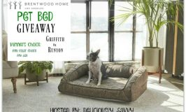 Brentwood Home Pet Bed Giveaway Ends 2/03/18