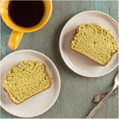 Matcha Cake Recipe made with Green Tea Powder is 13 SmartPoints Per Slice