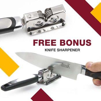 Free Bonus Knife Sharpener