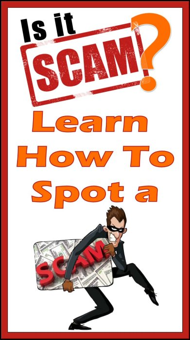 Is It A Scam Learn How To Spot a Scam