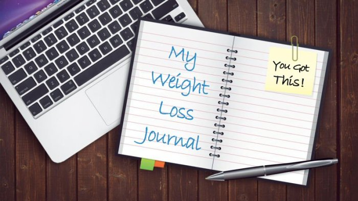 My Weight Loss Journal and Laptop - How Much Food Does It Take To Gain Weight? Find out in this Weight Watchers Freestyle Post