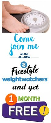 Come Join Me On The New Weight Watchers Free Style Program and Get One Month FREE